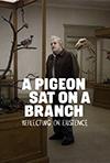Un pigeon perché sur une branche philosophait sur l'existence