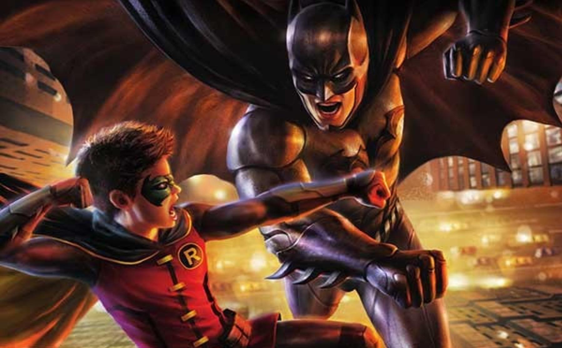 Critique batman vs robin jay oliva - Image de batman et robin ...